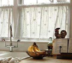 Heritage Lace bee curtains