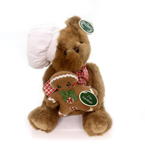 "Bearington - Christmas Holiday Bear ""Ben Baking"" - 10 Inches"
