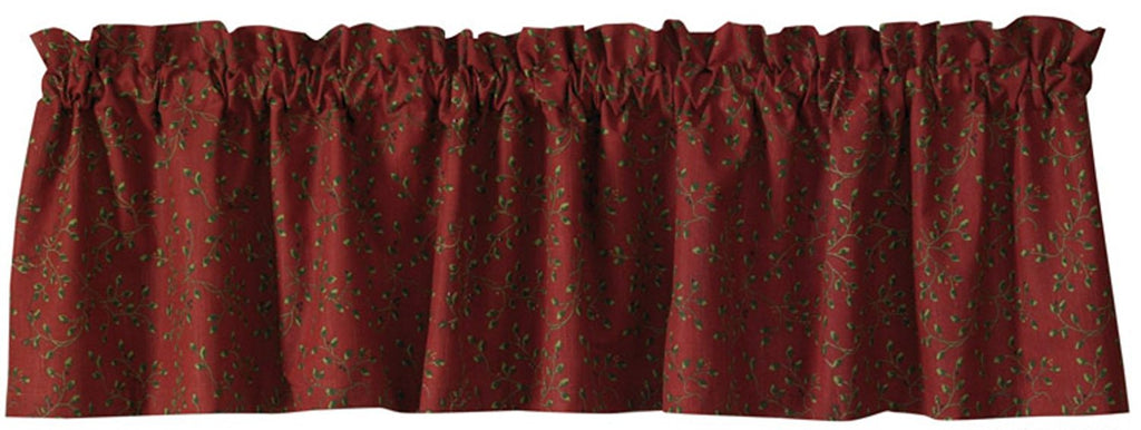 Park Designs - Berry Vine Valances 72 x 14 Inches  2 Patterns [Home Decor]- Olde Church Emporium