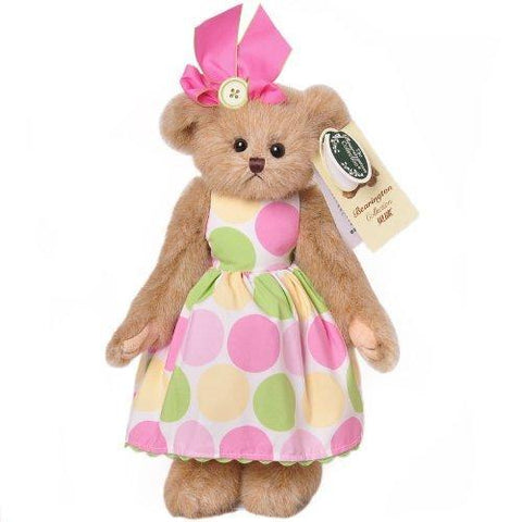 Bearington  - Betsy Buttons Easter Spring Bear 14 Inches and Retired