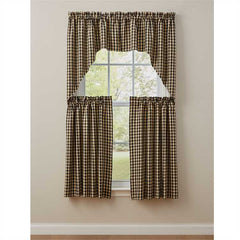 Park Designs - Berry Gingham Collection Curtains and Tabletop Items [Home Decor]- Olde Church Emporium