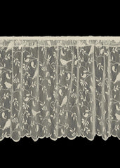 Heritage Lace Bristol Garden Collection - Curtains, Runners, Doilies 2 colors