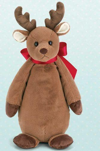 Bearington - Big Buck Bean Bottom Reindeer - 22 Inches and Retired - Olde Church Emporium