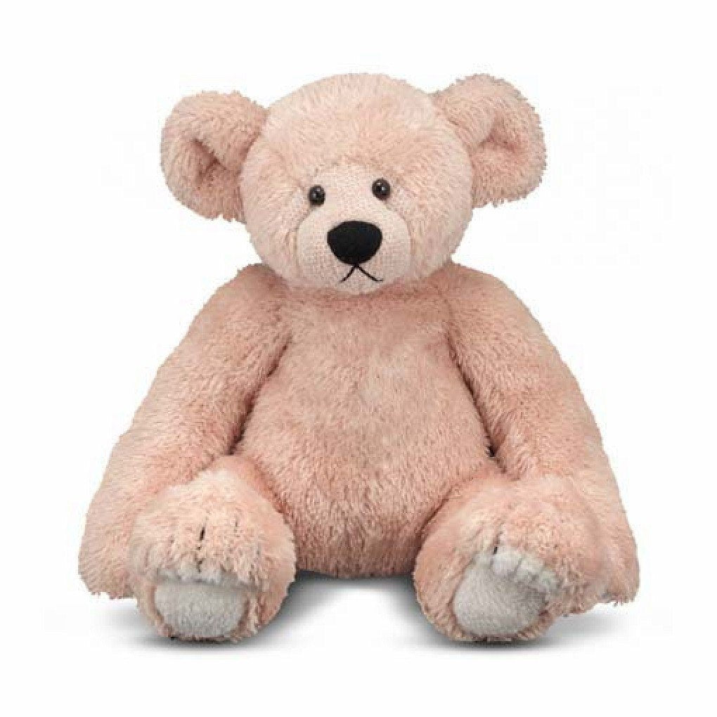 Melissa and Doug - Bliss Soft and Cuddly Tan Teddy Bear 16 Inches High [Home Decor]- Olde Church Emporium