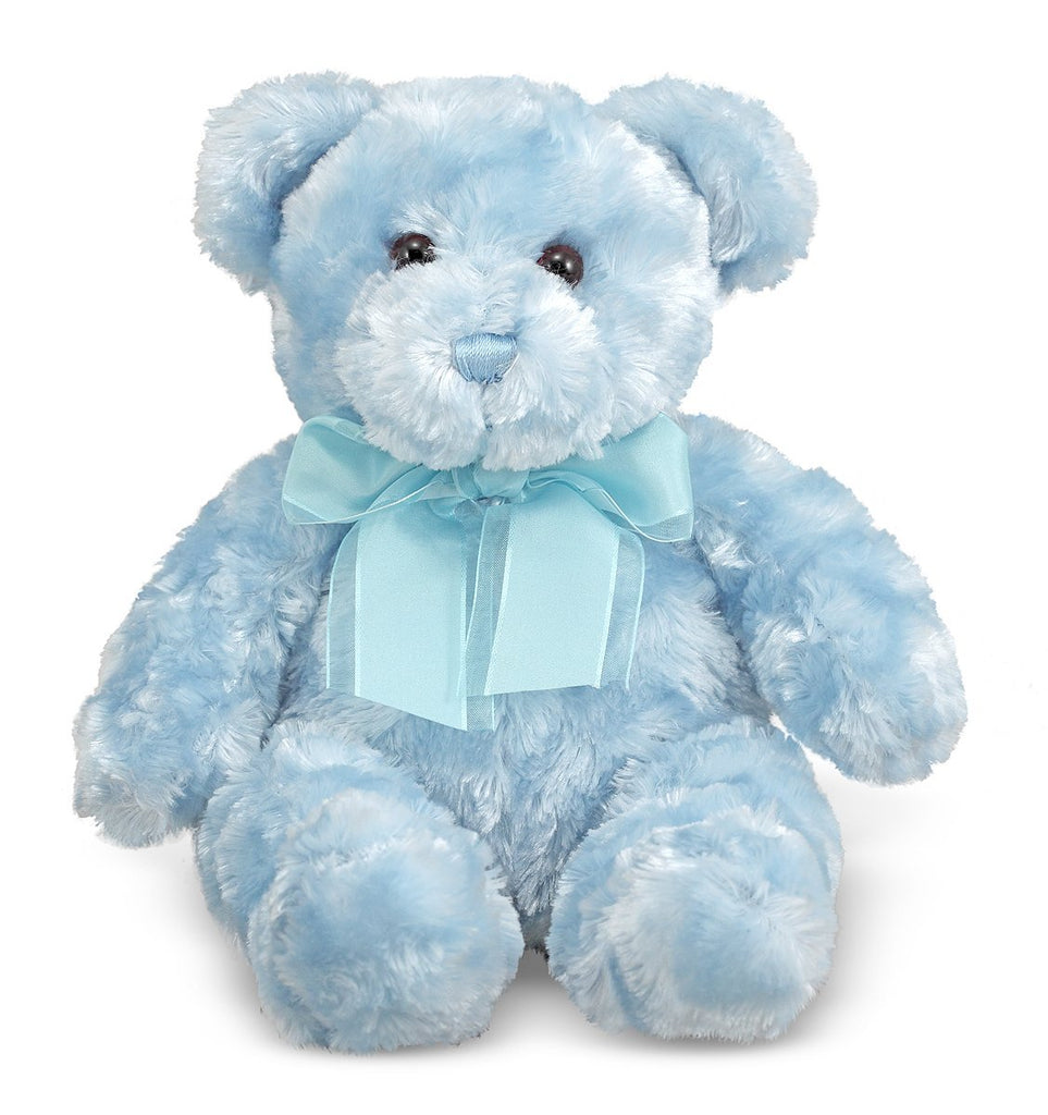 Melissa & Doug - Blueberry Teddy Bear Stuffed Animal Soft and Cuddly 14 Inches [Home Decor]- Olde Church Emporium