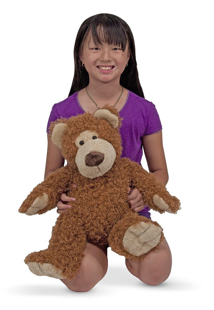 Melissa & Doug - Big Roscoe Bear Stuffed Animal [Home Decor]- Olde Church Emporium
