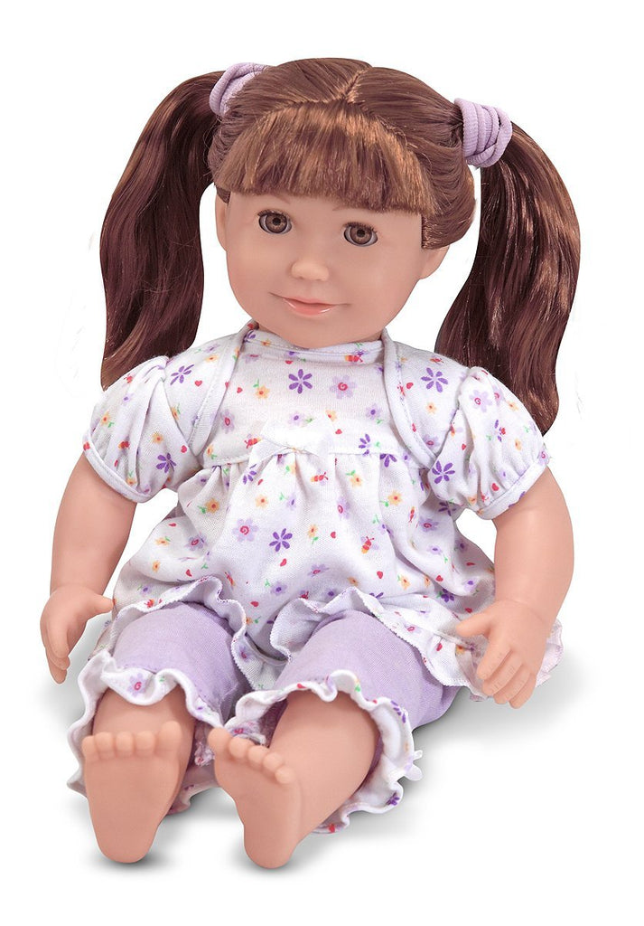 "Melissa & Doug - Mine to Love Boxed 14"" ""Brooke"" Doll Ages 2 + [Home Decor]- Olde Church Emporium"