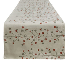 Park Design Berry Sprig Printed Table Runner 15 x 72 Inches Long  Farmhouse, Country - Olde Church Emporium