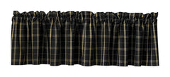 Park Design - Black Stone Valance, 72 x 14 Inches [Home Decor]- Olde Church Emporium