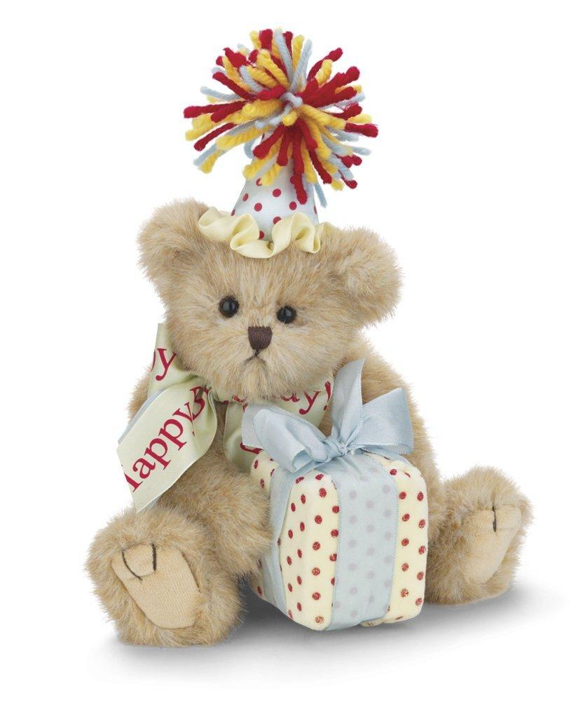 Bearington Beary Happy Birthday Plush Bear 10 Inches