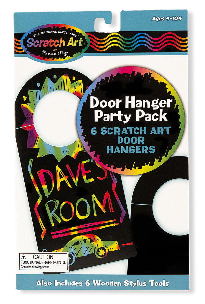 Scratch Art® Classroom Packs - Scratch Art® Party Pack - Door Hangers