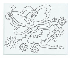 Melissa & Doug - Canvas Creations Fairy Ages 5+ [Home Decor]- Olde Church Emporium