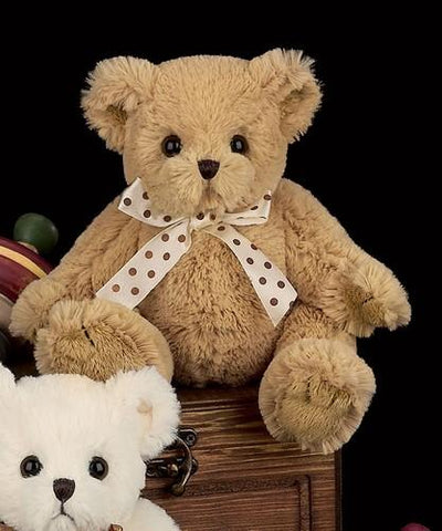 Bearington - Caramel and Coconut Plush Stuffed Animal Teddy Bear Brown or  White 10 Inches