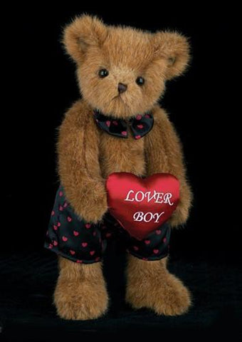 Bearington  -  Carson Nova Plush Bear for Valentines 12 Inches