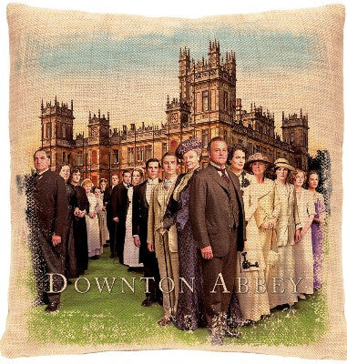 Downton Abbey - Cast Pillows - Downton Abbey Collection