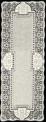 Heritage Lace Canterbury Classic Collection - Runners and Tablecloths Made in USA