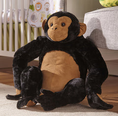 Melissa and Doug - Giant Chimpanzee Life Like Plush and Cuddly [Home Decor]- Olde Church Emporium