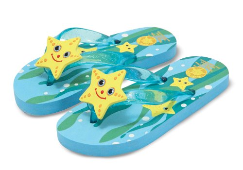 Melissa and Doug - Sunny Patch Cinco Starfish Flip-Flops Various Styles and Sizes [Home Decor]- Olde Church Emporium
