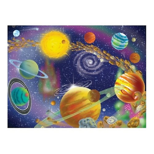 Melissa & Doug Deluxe The Infinite Cosmos Cardboard Jigsaw - 300 Piece - Olde Church Emporium