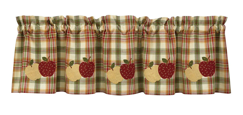 Park Designs Apple Lined Valance 60 x 14 Inches - Olde Church Emporium