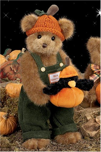 Bearington -  Halloween and Fall Bear Crawford & Crow - 14 Inches and Retired - Olde Church Emporium