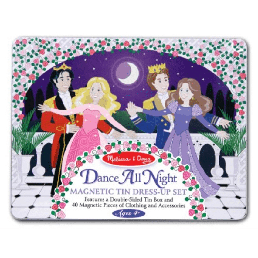 Melissa and Doug Dance All Night Magnet Tin Set  Ages 4+ - Olde Church Emporium