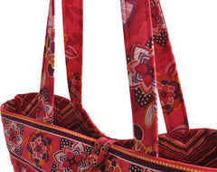 Stephanie Dawn Tote - Dottie Pop New Quilted Handbag USA Small Carry All, Tote 10011-010 - Olde Church Emporium