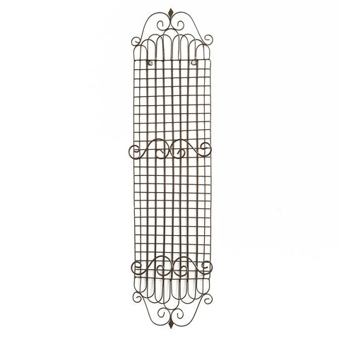 "Park Design Double Metal Plate Rack - Measures 23.5""H X 5.5""W X 1.75""D Farmhouse, Country"