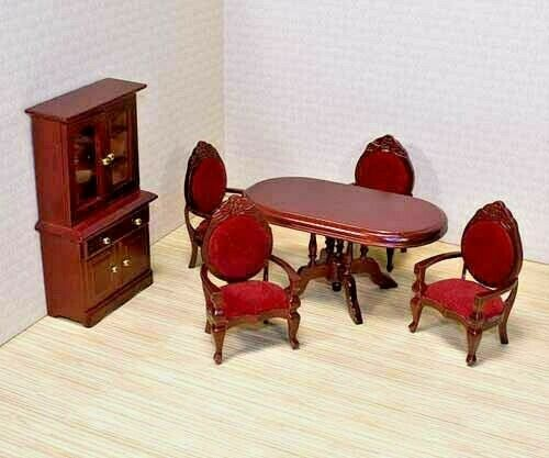 Melissa and Doug Wooden Dining Room Set 6 Hand Crafted Pieces