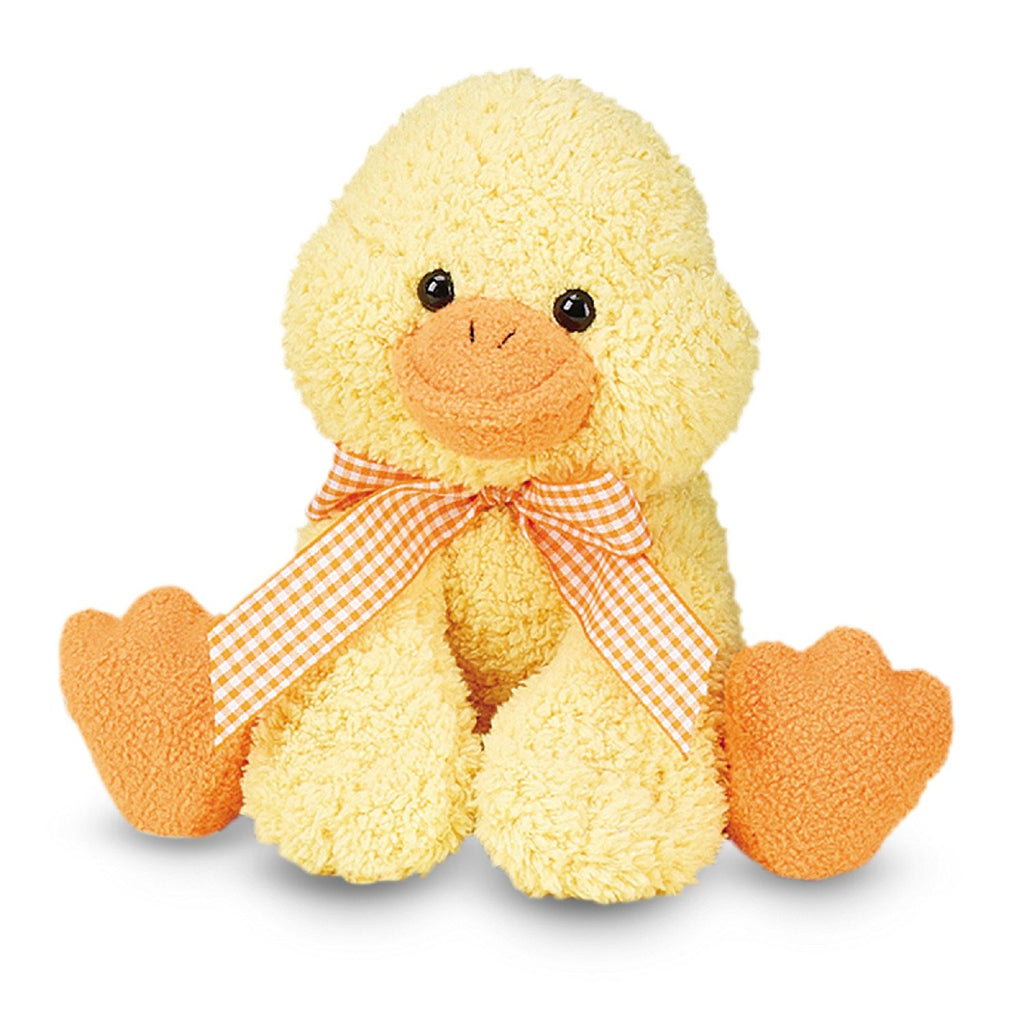 Melissa & Doug - Meadow Medley Ducky Stuffed Animal With Quacking Sound Effect [Home Decor]- Olde Church Emporium