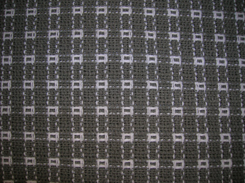 Homespun Tablecloth -  Gray and White - Tablecloths, Napkins, Runners, Placemats - Made in USA