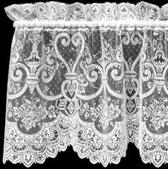 Heritage Lace - English Ivy Collection - Various Curtain Sizes in White and Ecru - Olde Church Emporium