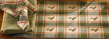 Park Design Early Riser Tablecloth 2 Sizes Farmhouse Country