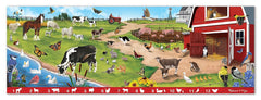 Melissa & Doug Search and Find Sunny Hill Farm Jumbo Jigsaw Floor Puzzle (48 pcs, over 4 feet long) - Olde Church Emporium