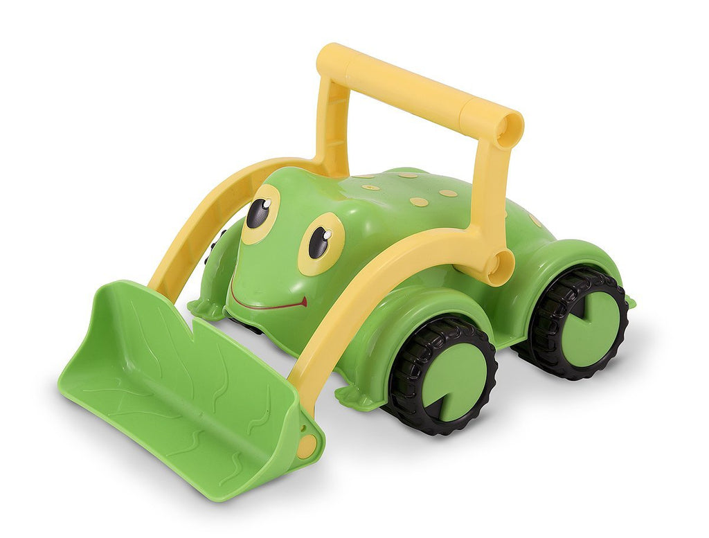 Melissa & Doug - Sunny Patch Froggy Bulldozer Vehicle Toy [Home Decor]- Olde Church Emporium
