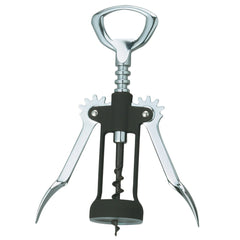 Fantes Rubber-Touch Wing Corkscrew, Made in Italy, 6.75-Inches x 2.625-Inches, The Italian Market Original since 1906