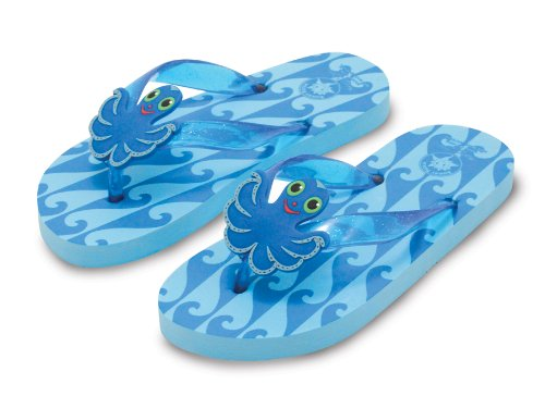 Melissa and Doug - Sunny Patch Flex Octopus Flip-Flops Various Sizes and Styles [Home Decor]- Olde Church Emporium