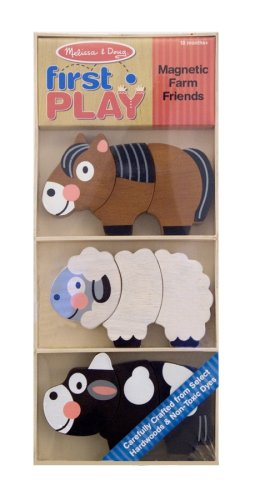 Melissa & Doug - First Play Magnetic Farm Friends Ages 18 Months+ - Olde Church Emporium