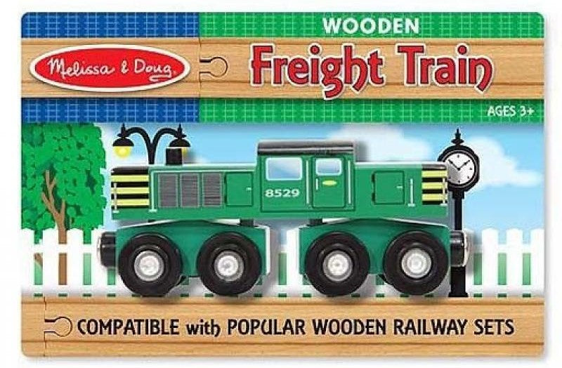 Melissa & Doug Freight Train -Hand Detailed - Olde Church Emporium