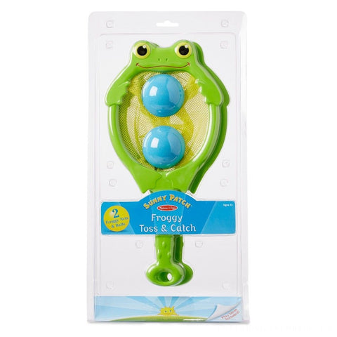 Melissa and Doug Froggy Toss and Catch Sunny Patch Ages 4+