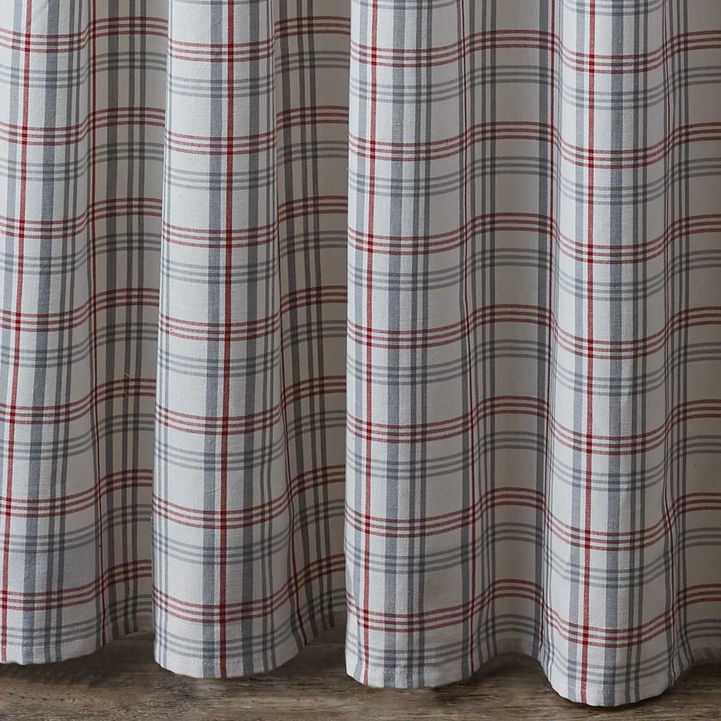 Park Farm Yard Plaid Shower Curtain - Olde Church Emporium