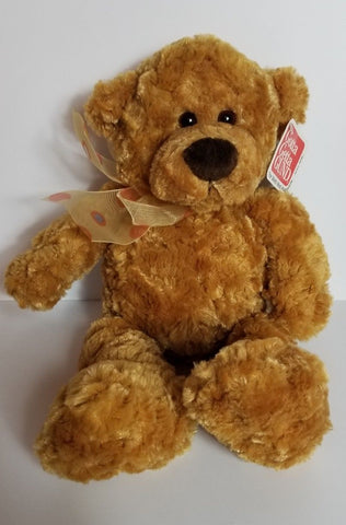 "GUND New Brown Marmalade Bear Teddy Plush Soft Toy 13"" Stuffed 15032"