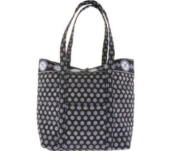 Stephanie Dawn - Harbor Blue Bag Collection 6 Styles Quilted Handbags Made In USA - Olde Church Emporium
