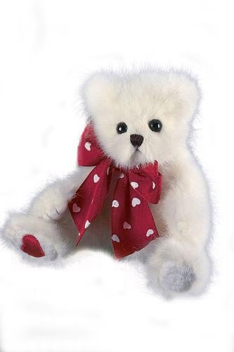 Bearington - Heartbreaker Plush Little Valentines Bear 8.5 Inches and Retired - Olde Church Emporium