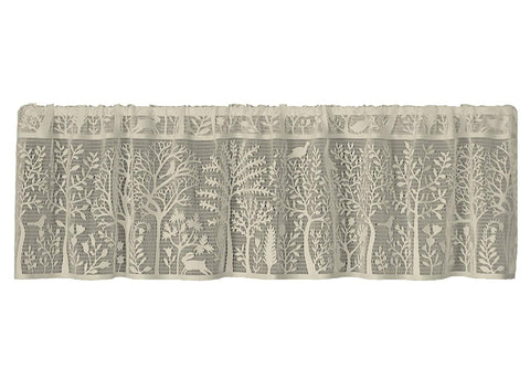 Heritage Lace Rabbit Hollow Collection   -Valances, Tiers, Panels, Swags in 3 Colors