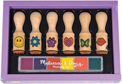 Melissa & Doug  Happy Handle Stamp Set - Olde Church Emporium