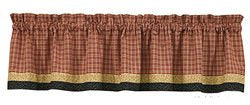 Park Designs - Heather's Quilt Point Valance 29 x 22 Inches and Valance 72 x 14 Inches