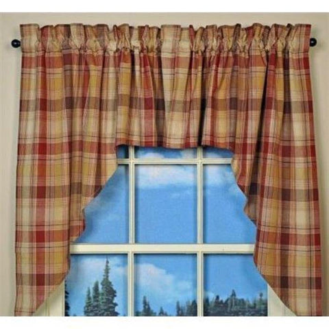 Park Designs - Hearthside Swag Pair 72 x 36 Inches Unlined Farmhouse Country