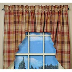 Park Designs - Hearthside Valance, 72 x 14 Inches