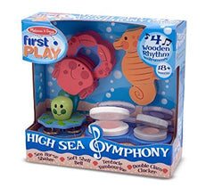 Melissa & Doug  - High Sea Symphony First Play Ages 18 months + [Home Decor]- Olde Church Emporium